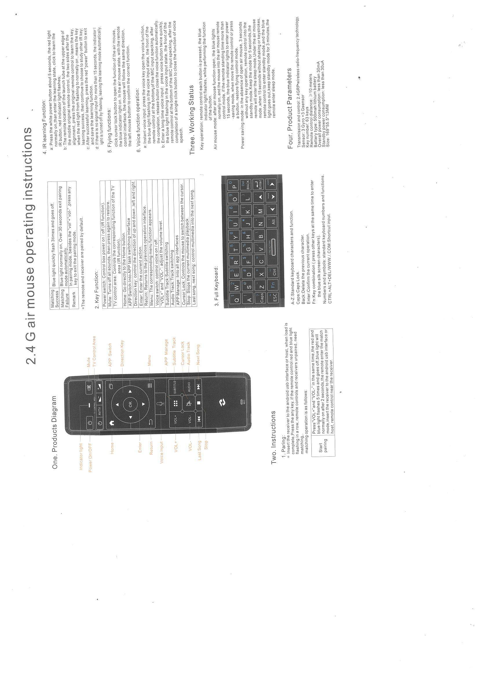 27a3b5b0126 https://www.chinavasion.com/china/wholesale/Computer_Accessories/Mouse_Keyboard/Zidoo-V5- Wireless-Air-Mouse/ - CVADP-A845-manual